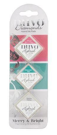 Nuvo - Diamond Hybrid Ink Pads - Merry & Bright