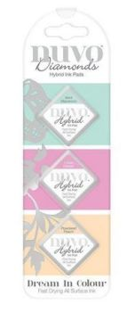 Nuvo - Diamond Hybrid Ink Pads - Dream in Colour