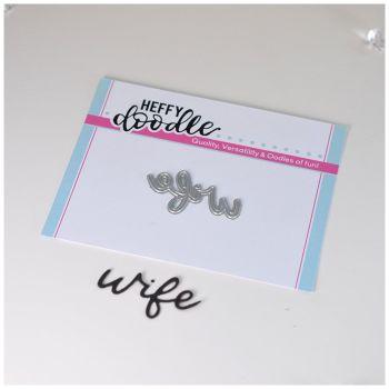 Heffy Doodle Wife die
