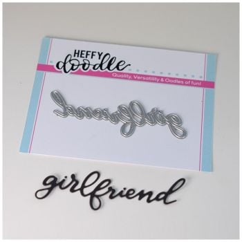 Heffy Doodle Girlfriend word die