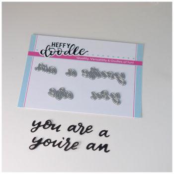 Heffy Doodle - You are word die