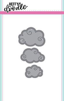 Heffy Doodle Swirly cloud die