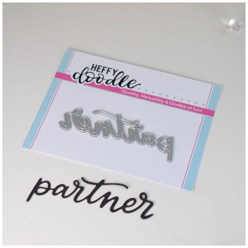 Heffy Doodle Partner word die