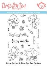 Time For Tea - Fairy Garden Clear Stamp Set