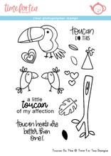 Time For Tea - Toucan do this Clear Stamp Set