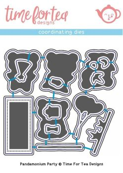 ***NEW***Time For Tea - Pandamonium Party Coordinating Die set