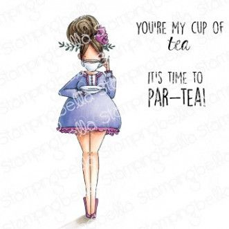 Stamping Bella - CURVY GIRL loves tea