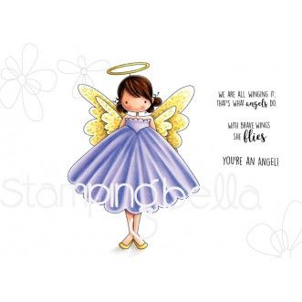 Stamping Bella - TINY TOWNIE Annie the angel