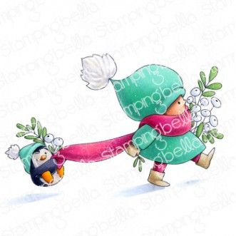 Stamping Bella - Bundle girl with a penguin
