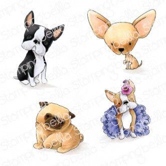 Stamping Bella - Bostons, Pug and Chihuahua