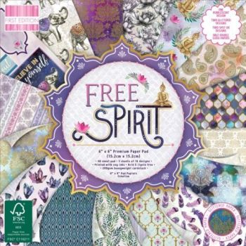 First Edition 6x6 FSC Paper Pad Free Spirit