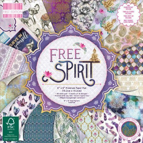 First Edition 6x6 FSC Paper Pad Free Spirit