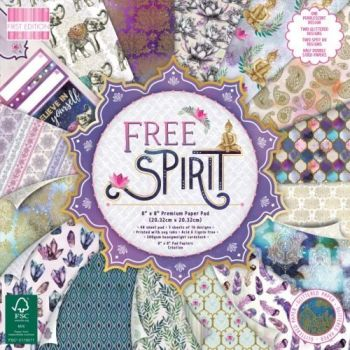 First Edition 8x8 FSC Paper Pad Free Spirit