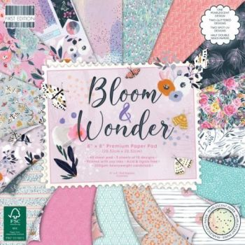 First Edition 8x8 FSC Paper Pad Bloom and Wonder