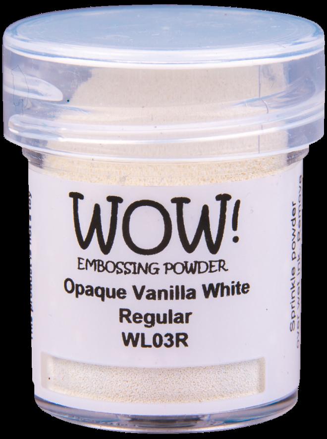 Opaque vanilla white 15ml pot