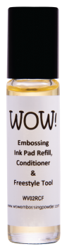 WOW Embossing Ink Pad Refill, Conditioner & Freestyle Tool
