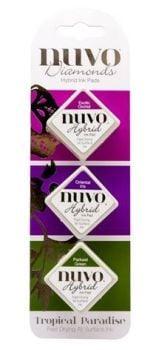 Nuvo - Diamond Hybrid Ink Pads - Tropical Paradise