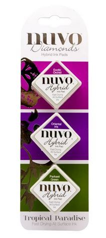 Nuvo - Diamond Hybrid Ink Pads - Tropical Paradise