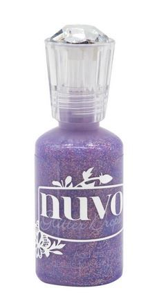 **NEW**Nuvo - Glitter Drops - Purple Rain