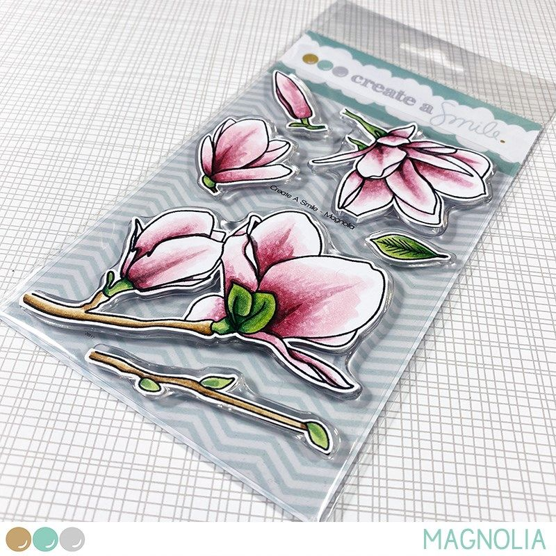 Create a smile - Magnolia clear stamp