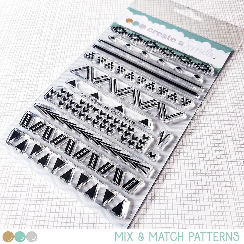 Create a smile - Mix & Match clear stamp