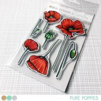 Create a smile - Pure Poppies clear stamp