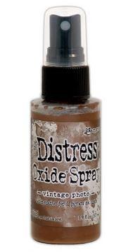 Vintage Photo - Tim Holtz Distress Oxide Spray