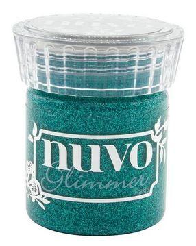 Nuvo - Glimmer Paste - Esmeralda Green