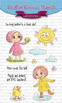 ***NEW*** Kraftin' Kimmie - Here comes the sun! clear stamp set