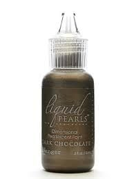 Dark chocolate - liquid pearls