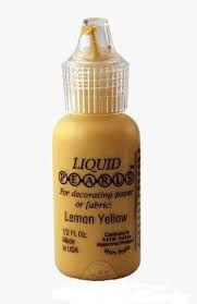 Lemon yellow - liquid pearls