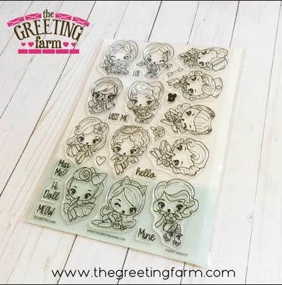 The Greeting Farm - Cheeky Reboots Kit clear stamp set