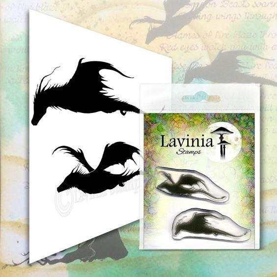 Lavina stamps - Dragon Set