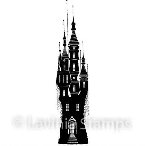 Lavina stamps - Far World Castle