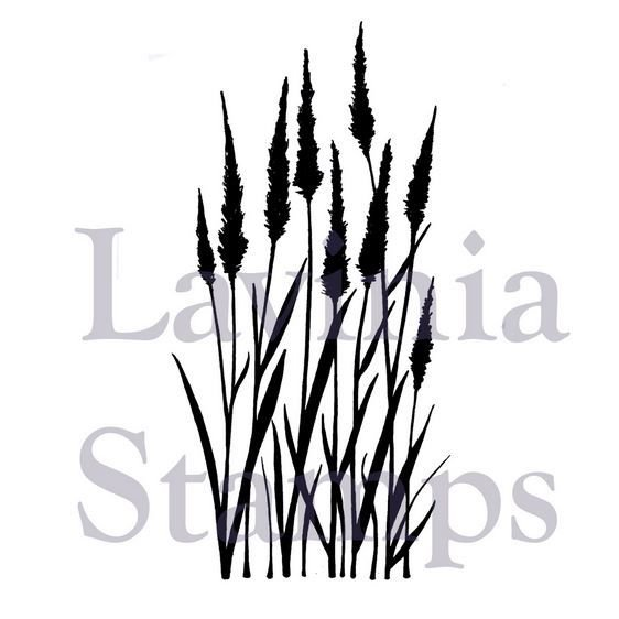 Lavina stamps - Meadow Grass