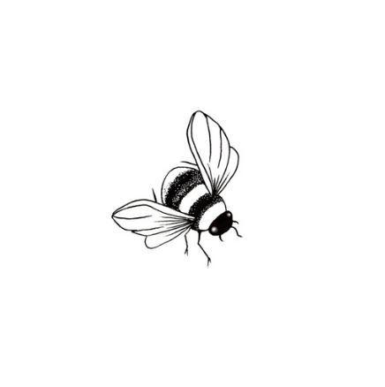 Lavinia Stamps - Bee Miniature