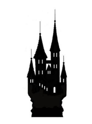 Lavinia Stamps - Silhouette Castle (miniature)