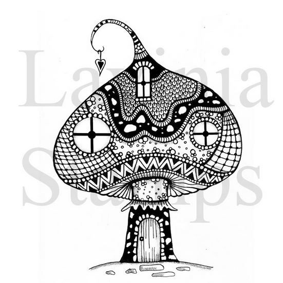 Lavinia Stamps - Zen Mushroom House