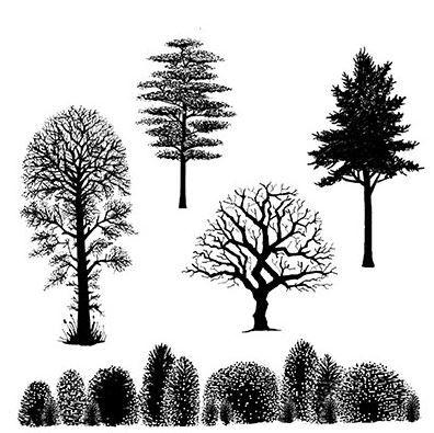 Lavinia Stamps - Tree scene