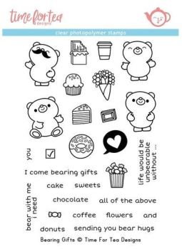 **NEW** Time For Tea - Bearing Gifts Clear stamp set