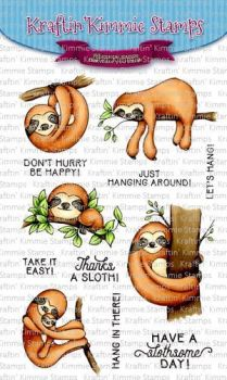 **NEW** Kraftin' Kimmie - A slothsome day! clear stamp set