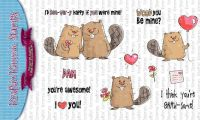 Kraftin' Kimmie - You're Gnaw-some! clear stamp set