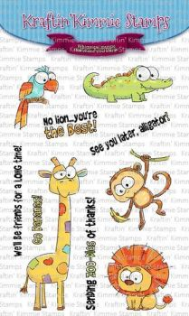 **NEW** Kraftin' Kimmie - Zoodles! clear stamp set