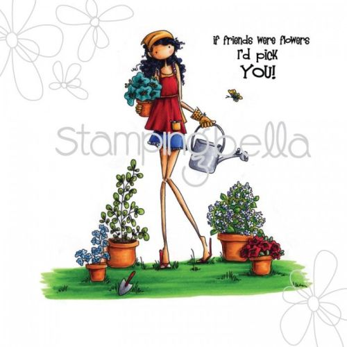 Stamping Bella - uptown girl PIPPA loves to PLANT (includes sentiment)