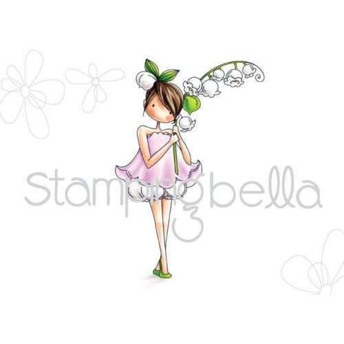 Stamping Bella - tiny townie GARDEN GIRL LILY OF THE VALLEY (includes 1 sta
