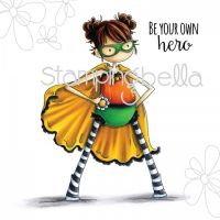 Stamping Bella - Tiny Townie HAYLEY the HERO (includes sentiment)