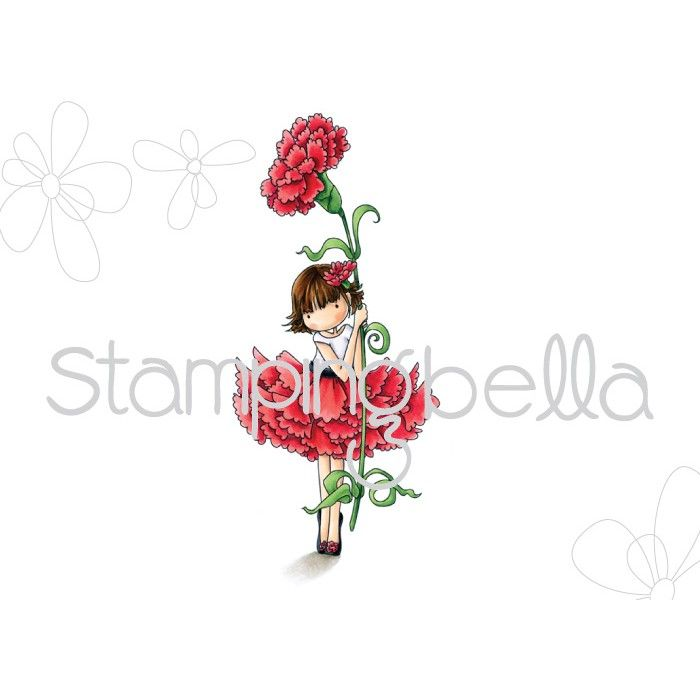 Stamping Bella - Tiny Townie GARDEN GIRL CARNATION