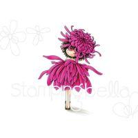 Stamping Bella - tiny townie GARDEN GIRL CHRYSANTHEMUM (November birth flower)