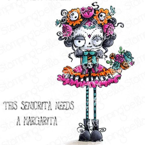 Stamping Bella - DAY OF THE DEAD ODDBALL
