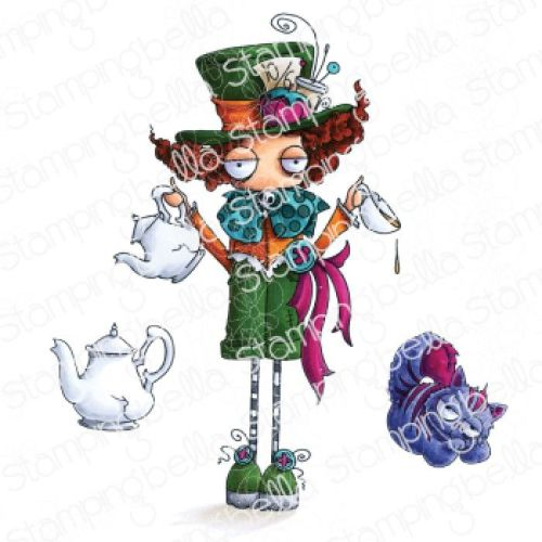 Stamping Bella - ODDBALL MAD HATTER (ALICE IN WONDERLAND COLLECTION)